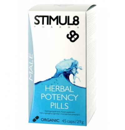 Stimul8 Potency Pills - возбудитель